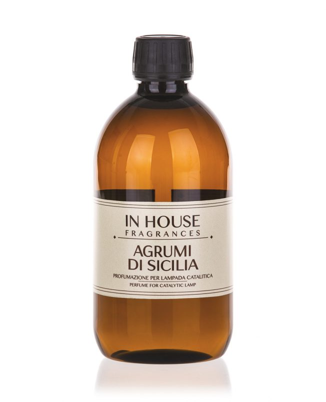 In House Fragrances - Agrumi di Sicilia Ricarica Catalitica 500ml - buy online Gida Profumi