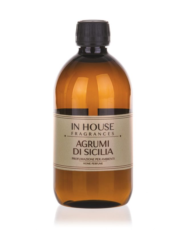 In House Fragrances - Agrumi di Sicilia Ricarica Profumo 500ml - buy online Gida Profumi
