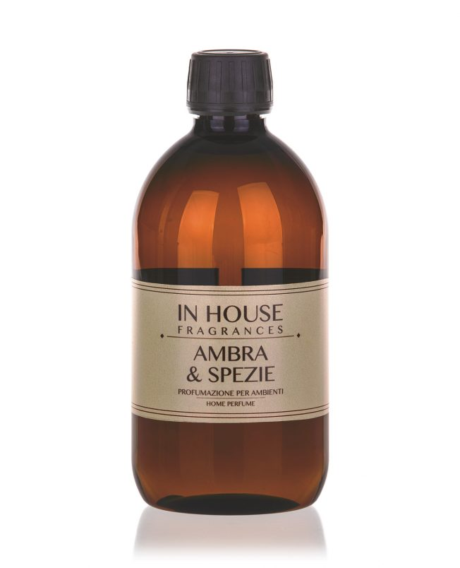 In House Fragrances - Ambra & Spezie Ricarica Profumo 500ml - buy online Gida Profumi
