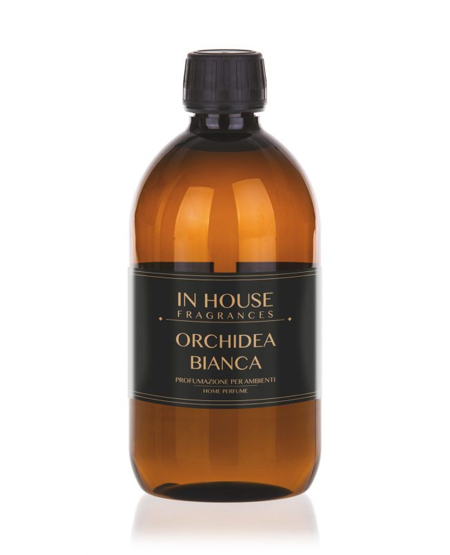 In House Fragrances - Orchidea Bianca Ricarica Profumo casa 500ml - buy online Gida Profumi