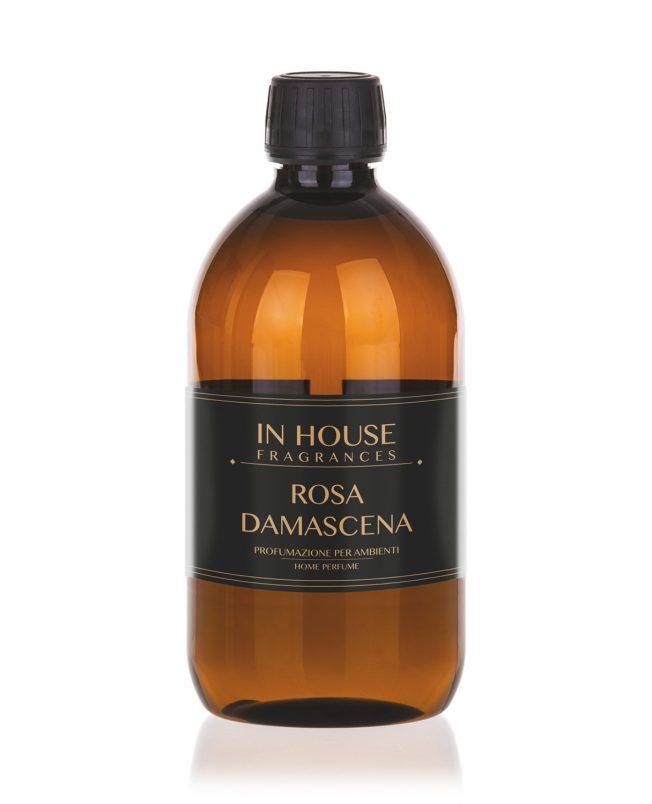 In House Fragrances - Rosa Damascena Ricarica Profumo casa 500ml - Compra online Gida Profumi