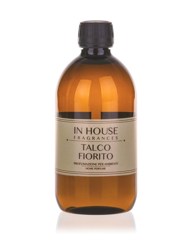 In House Fragrances - Talco Fiorito Ricarica Profumo 500ml - Compra online Gida Profumi