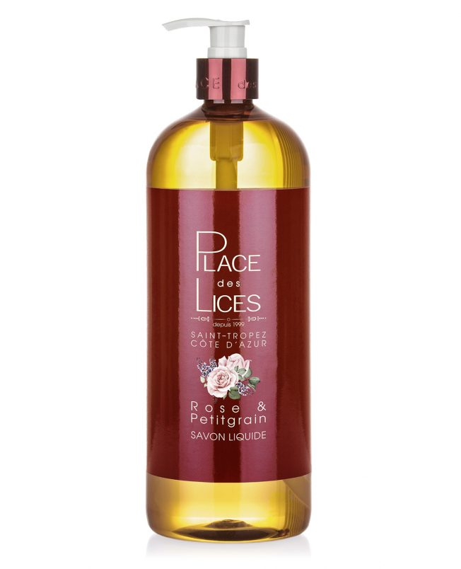 Place des Lices - Tropeziennes Sapone Liquido Rose Petitgrain 1000ml - Compra online Gida Profumi
